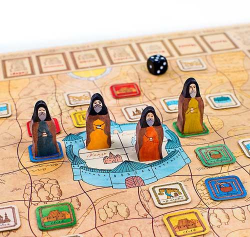 Настольная историческая игра «Монастыри»