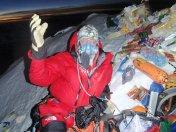 Эверест 2012. Отец Федор Конюхов на вершине