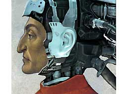 Фотомонтаж Dante Cyborg. Автор Roberto Rizzato. 2008 г.