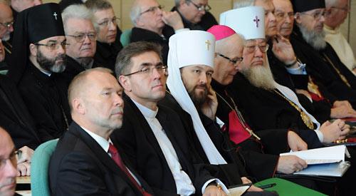Митр. Иларион на конференции «Будущее христианства в Европе: роль Церквей и народов Польши и России».