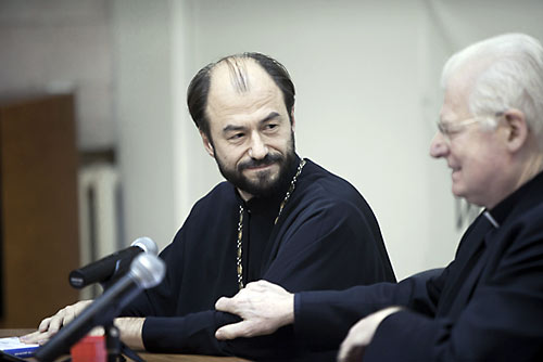 О. Владимир Шмалий и кардинал Скола: «Абсолютное единство с признанием инаковости»?