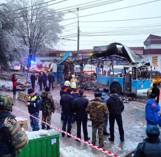 Взрыв троллейбуса в Волгограде. 30 декабря 2013 года.