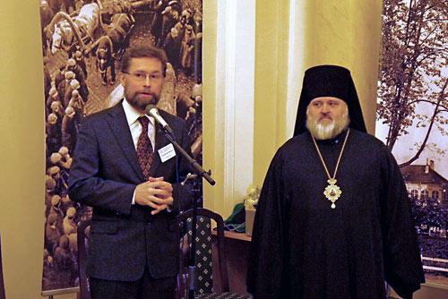 Дмитрий Гасак и еп. Назарий.