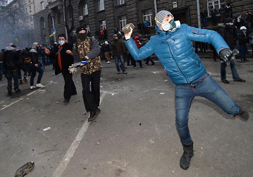 Вчера в Киеве. Фото «ТВ-Новости».