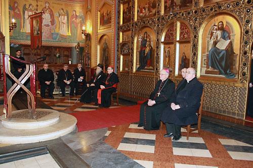 В загребском православном соборе. 23 января 2014 г.