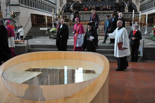 День экуменизма в Трире, в ходе которого митр. Авгстин принял «экуменическое крещение». Май 2012 г.