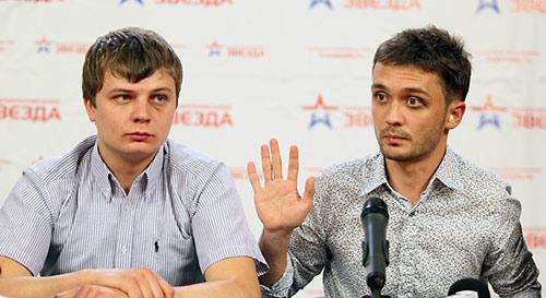 Никита Конашенков и Евгений Давыдов.