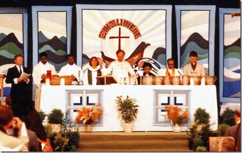Лимская литургия. Генеральная ассамблея ВСЦ в Ванкувере (31 августа 1983 г.).