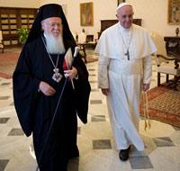 Патриарх Варфоломей всегда готов к встрече с папой.