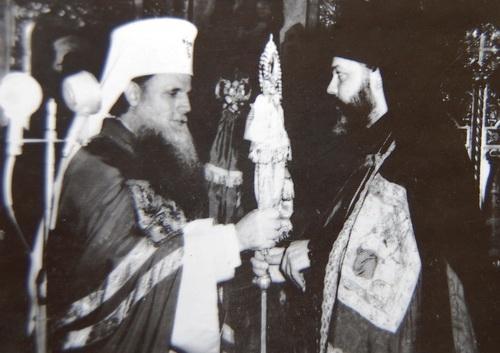 Интронизацию митр. Николая в 1962 г. совершает Патриарх Иустиниан.