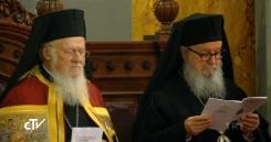 Патриарх Варфоломей и архиеп. Димитрий (Тракателлис)