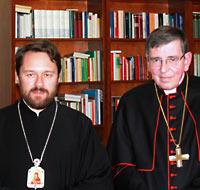 Кардинал Кох считает предложение митр. Илариона слишком воинственным.