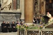Православные гости на мессе.